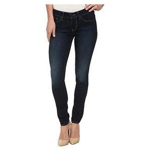 Levi's Bold Curve Blue Skinny Jeans Size 27
